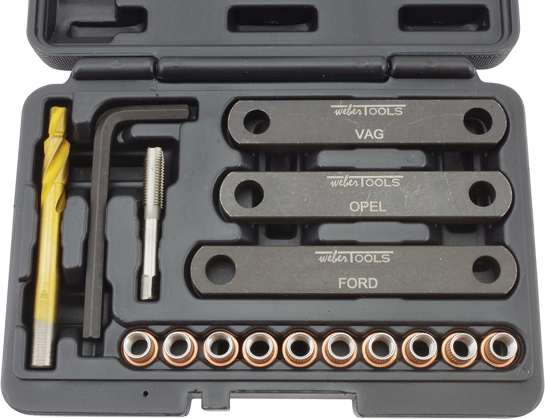 Gewinde Reparatur Satz Bremssattel Führungsbolzen M9 X 1 25 Vag Ford Opel Auto