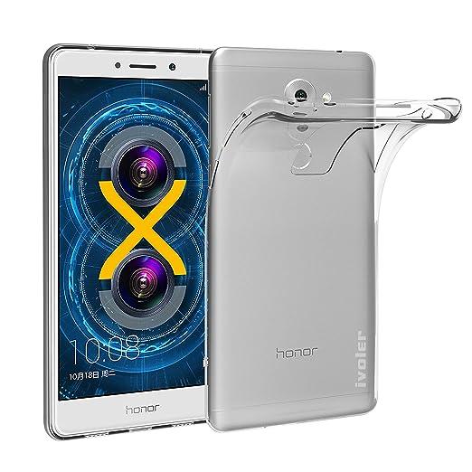 37 opinioni per Custodia Cover Huawei Honor 6X, iVoler Huawei Honor 6X Silicone Caso Molle di