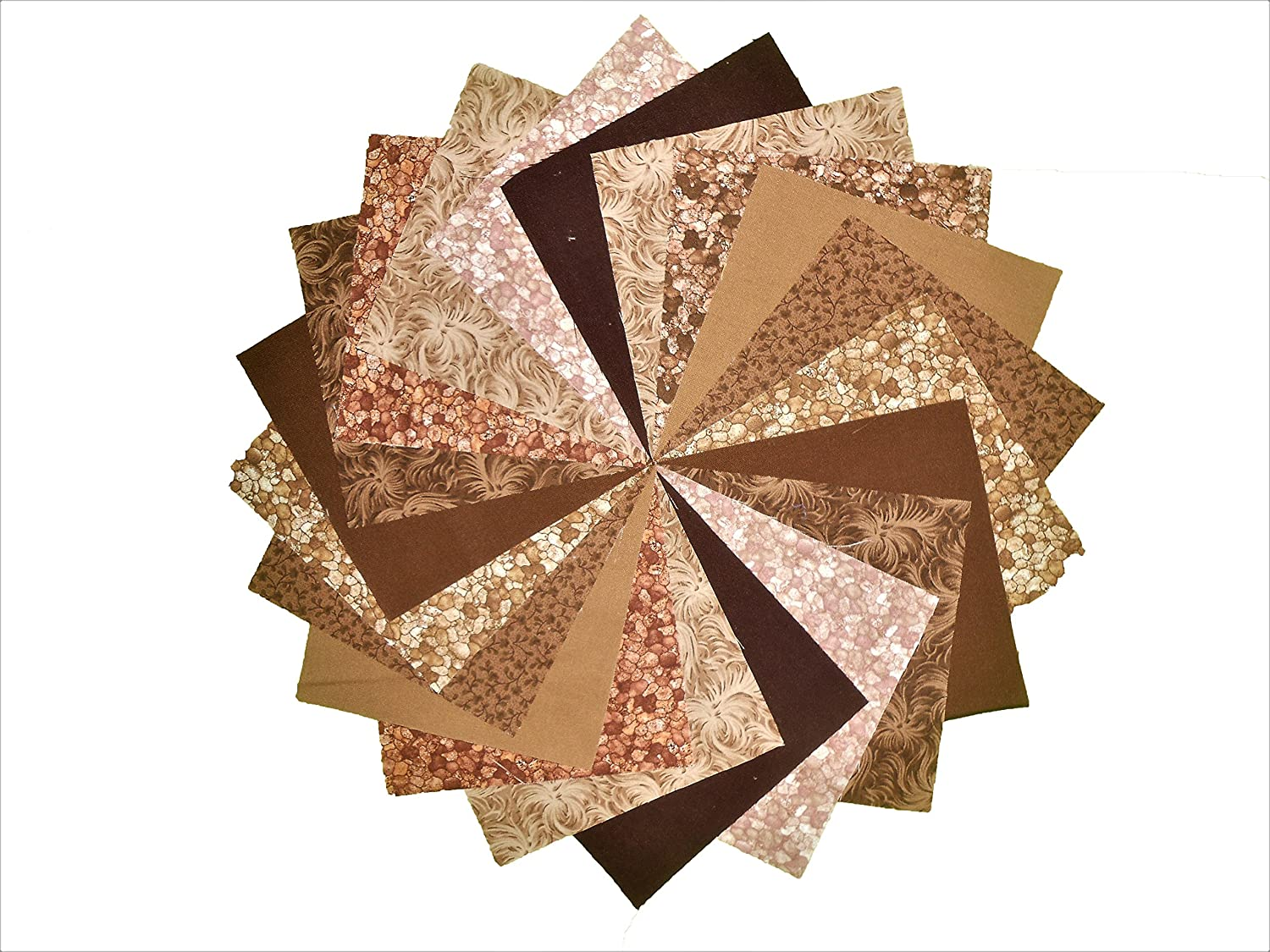 10 10 Inch Chocolate//Shades of Browns Charm Pack