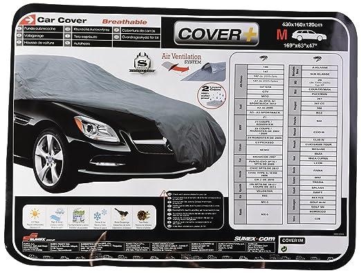 108 opinioni per Sumex Cover1M Carplus- Telo copriauto Classic Cover- M- 430X160X120 cm