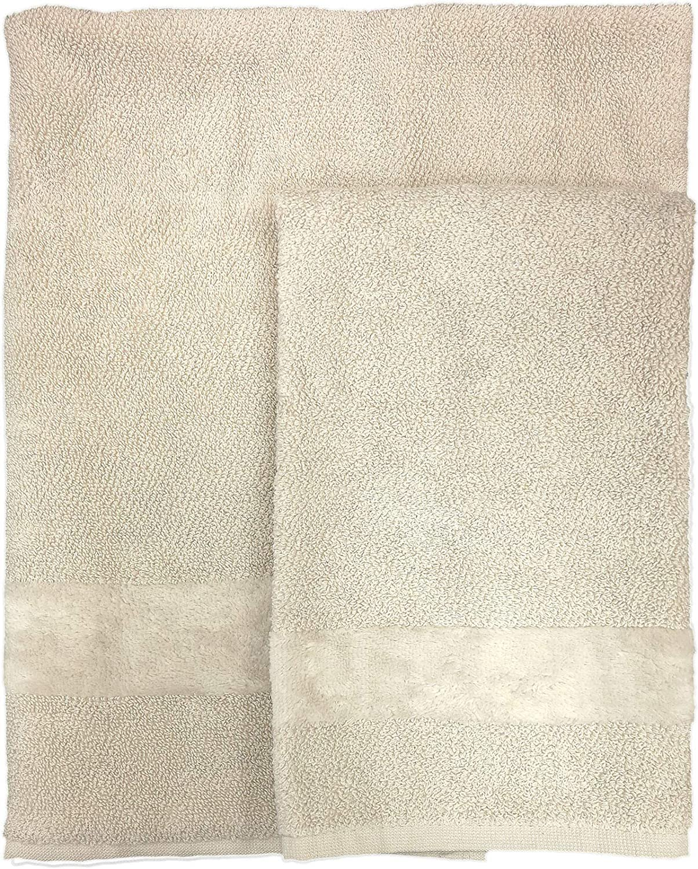Set asciugamano 1+1 Fyber var.012