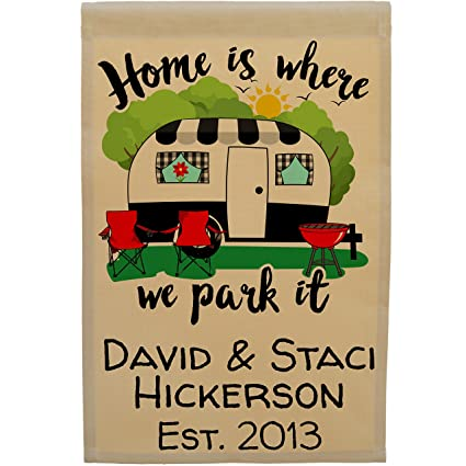 Amazon.com: Happy Camper World Home is Where We Park It ...
