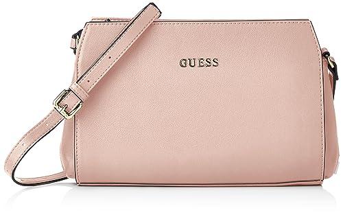 nuovi stili 492fa e144d Guess Sissi, Borsa a tracolla Donna, Rosa (Rose), 8x16x22 cm ...
