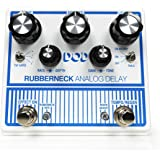 Other Guitar Delay Effects Pedal, White (DOD-RUBBERNECK-U)
