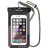 "MOSSLIAN TPU Morbido Custodia Impermeabile Smartphone 6"" per Piscina Nuoto Drift Surf Sci Pesca Immersioni ecc sport acquatici / iPhone 6 6s Plus SE, HUAWEI P8 ( Rosa,6 inch)"