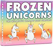 Frozen Unicorns: The Hilarious Pocketsize Party Game of Silly Statues. The Super-Fun Family Game from The Makers of Randomis