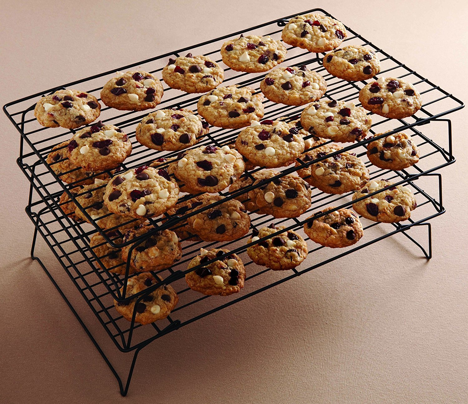 Wilton 3 Tier Cooling Grid - Black by Wilton (Image #1)