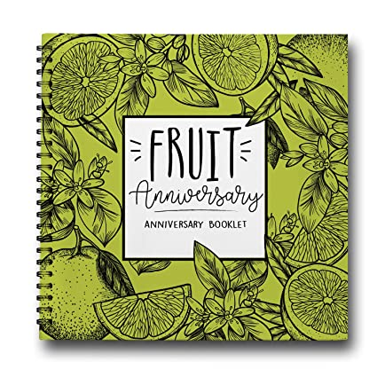 Amazon.com: 4 Years of Love, Fruit Anniversary Gifts For Him, from ...