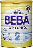 Nestlé Beba Optipro 2, Folgemilch für Säuglinge, Nach dem 6. Monat, 6er Pack (6 x 800 g)