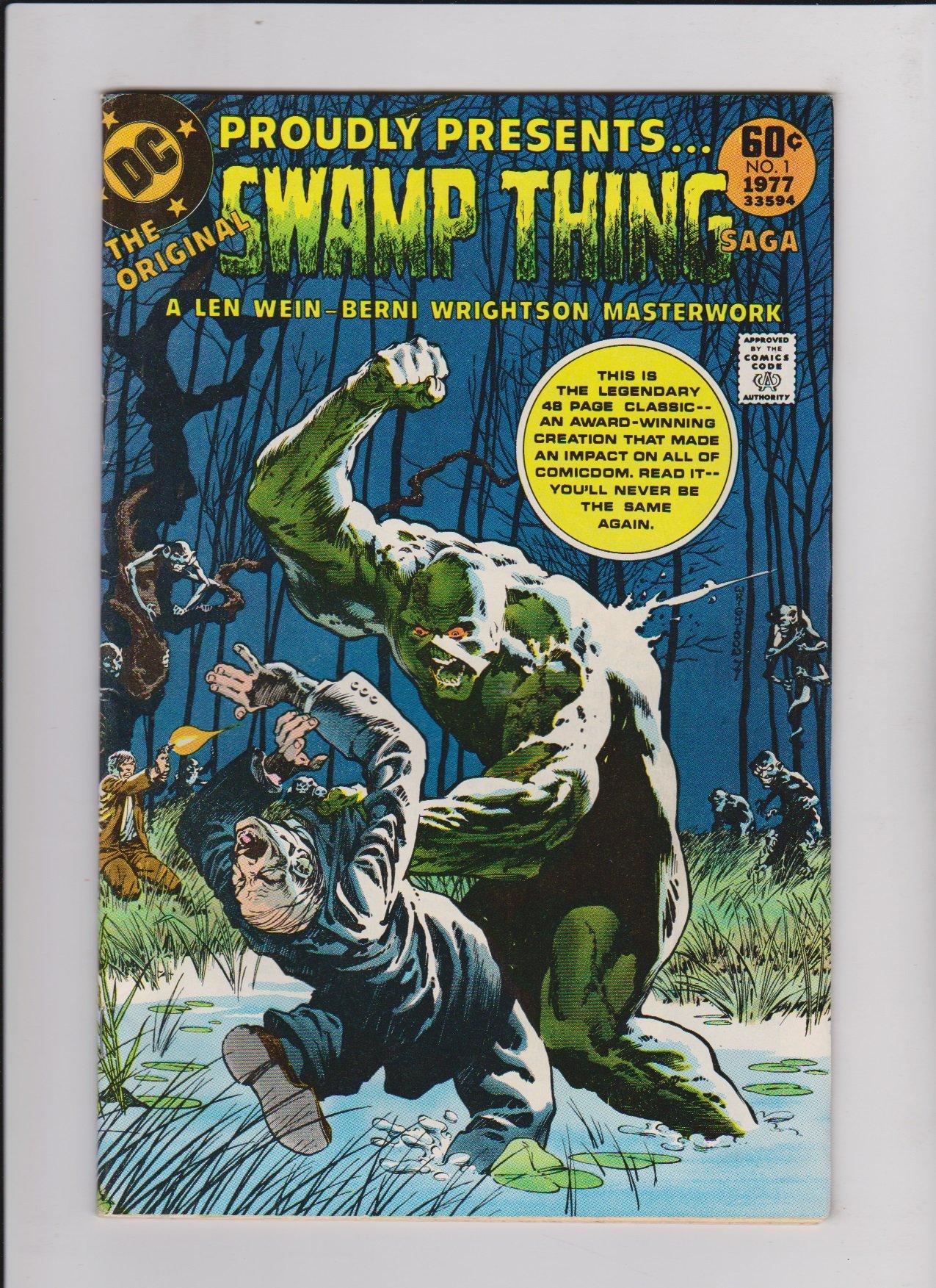 genesis books swamp thing dark