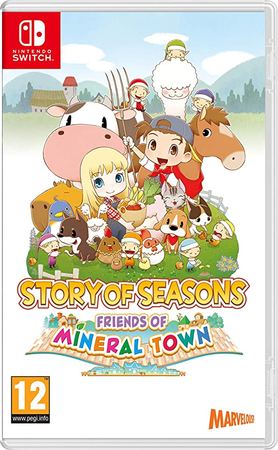 Story Of Seasons: Friends Of Mineral Town: Amazon.es: Videojuegos