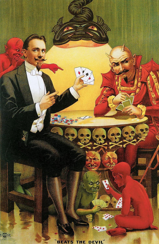 Beats the Devil ( Fredrik ) – キャンバスまたはFine印刷壁アート Fine Paper - 20 x 30 Fine Paper - 20 x 30  B008IHHFDW