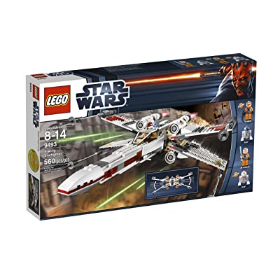 LEGO Star Wars X-Wing Starfighter 9493 (Discontinued by manufacturer): Toys & Games
