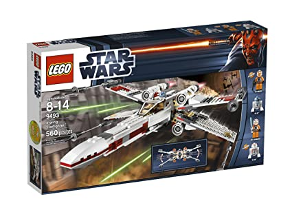 Amazon Com Lego Star Wars X Wing Starfighter 9493 Discontinued By
