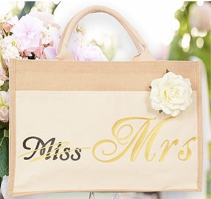 Amazon Bride Bag Miss To Mrs Bag Bride Tribe Tote Bride