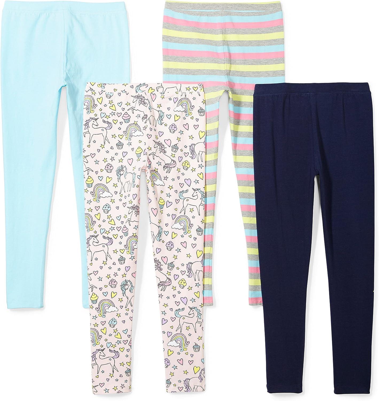 Confezione da 4 leggings da bambina Spotted Zebra Marchio