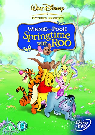 Amazon winnie the pooh springtime with roo dvd import winnie the pooh springtime with roo dvd import voltagebd Images