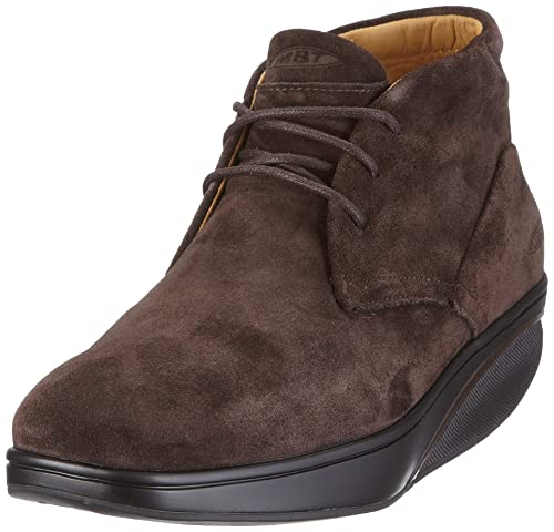5b1b2242e3d0 MBT Men s Kizingo Mid m coffee Boots Brown Size  12  Amazon.co.uk ...