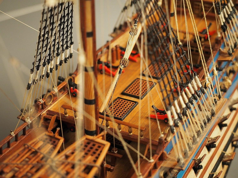 Amazon.com: Le Soleil Royal 1669 modelo de barco madera ...