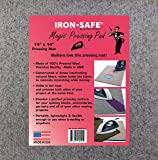 """Jacobson Products Premium Wool Ironing Pad for Quilters - 100% Wool Felt Pressing Mat - The Ideal Pressing Pad for Home & Commercial Ironing (14"""" x 14"""" x 0.5"""")"""