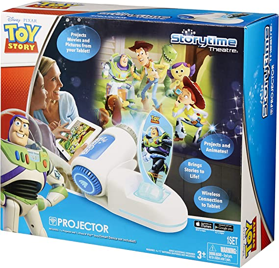 Amazon.es: Tech 4 Kids Story Time Theater with Buzz Light Year ...