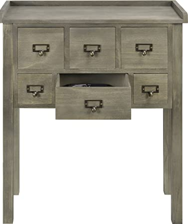 altra furniture accent console table with 6 drawers amazoncom altra furniture ryder apothecary