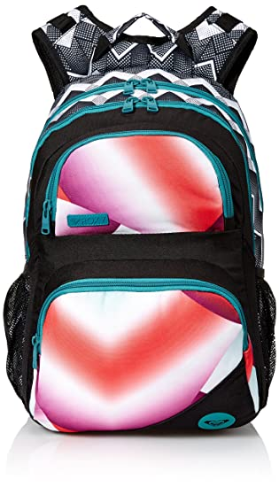 3ef677f72 Roxy Women's Shadow Dream Poly Backpack, Optic/True Black: Amazon.in ...