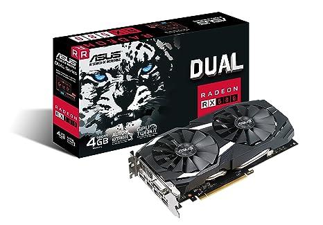 ASUS DUAL-RX580-4G Radeon RX 580 4 GB GDDR5 - Tarjeta ...