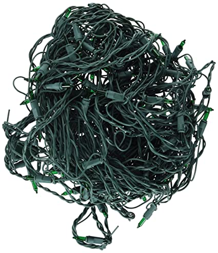 nomainliten import holiday wonderland 150ct green net light set 562134 christmas lights net