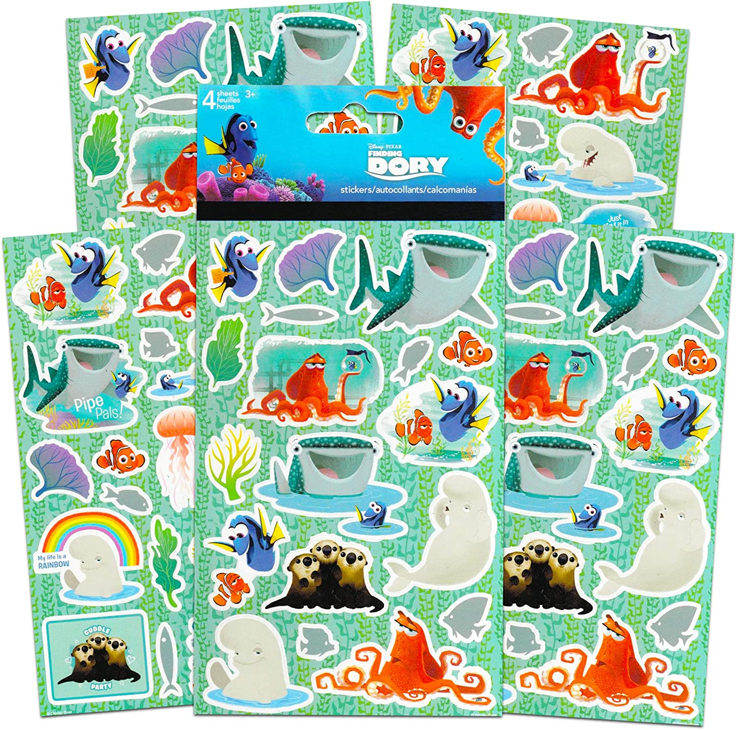 Disney Storybook Collection Disney Baby Board Book Set Disney Story Book Bundle ~ 9 Pack Disney Baby My First Library Board Block Books for Toddlers Kids Infants with Disney Reward Stickers