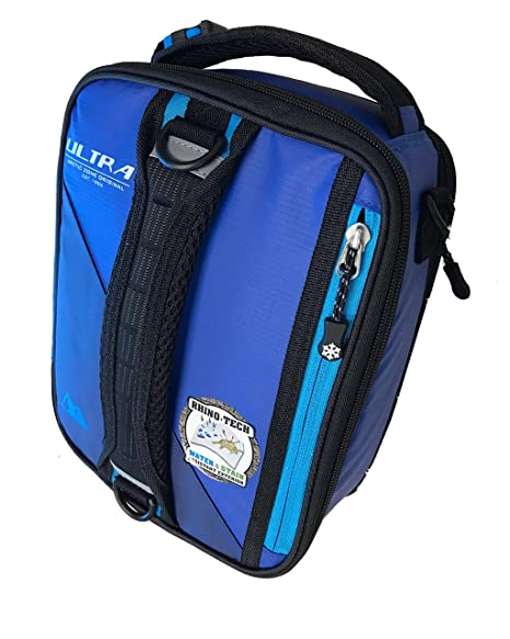 8a73cdd28cf2 Ultra Arctic Zone High Performance Lunch Box Pack Cooler with 2 Ice Walls  and 3-in-1 Bento Container, Royal Blue