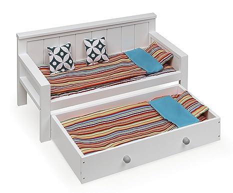 Badger Basket Sofa/Daybed Doll Furniture, Multicolor