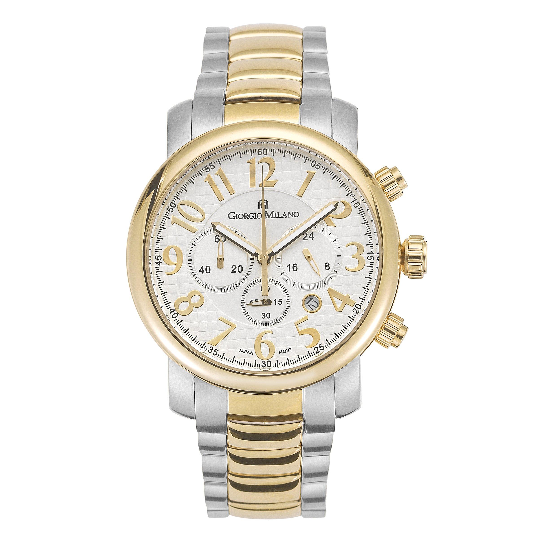 Giorgio Milano 911STG02 ''Giovanna'' Two Tone IP Gold Chronograph Watch