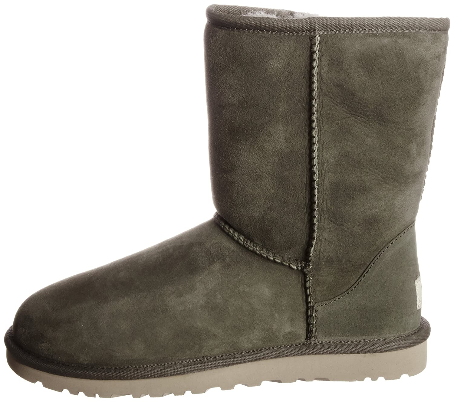 502560e385f UGG Women's W Classic Short Unlined Slip-on Boots Half Length