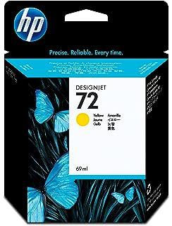 HP C9384A 72 Cabezal de Impresión Original, 1 unidad, negro mate y amarillo: Amazon.es: Oficina y papelería