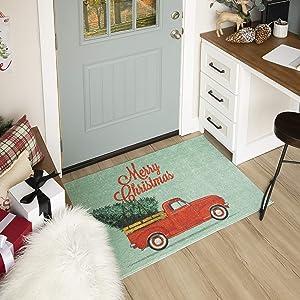 Mohawk Home Merry Christmas Truck Multi (24