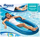 Aqua Comfort Water Lounge, Inflatable Pool Float Recliner and Tanner, Superior Buoyancy, 63""