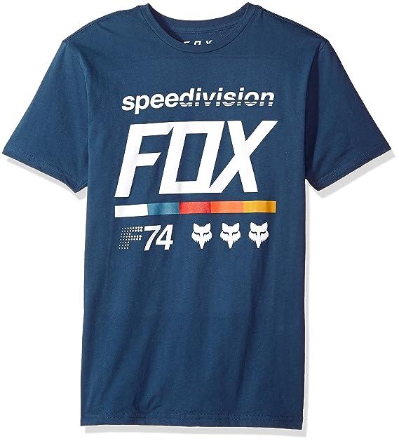 Fox Camiseta Draftr 2 Premium Light Indigo (XL, Azuloscuro)