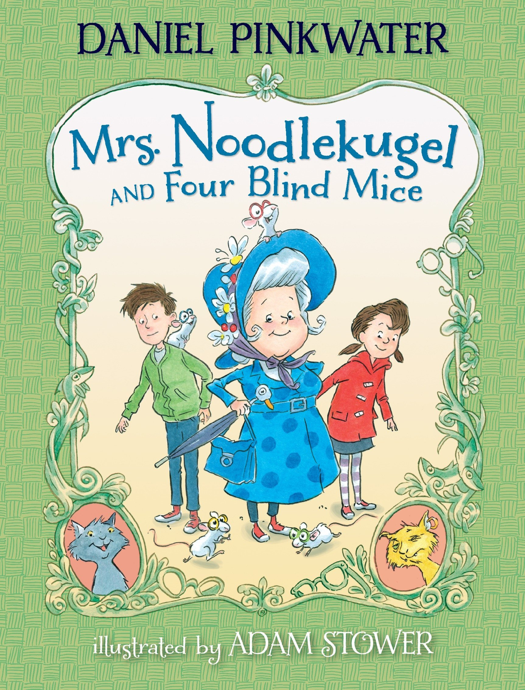 Amazon.com: Mrs. Noodlekugel and Four Blind Mice (9780763650544): Daniel  Pinkwater, Adam Stower: Books