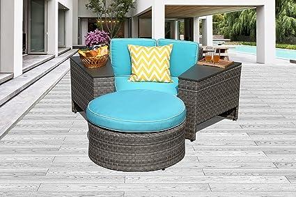 Amazon.com: patioroma al aire última intervensión muebles de ...