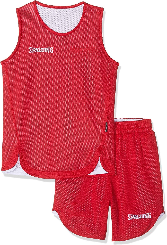 Spalding Doubleface Kids Set, Conjunto reversible camiseta y ...