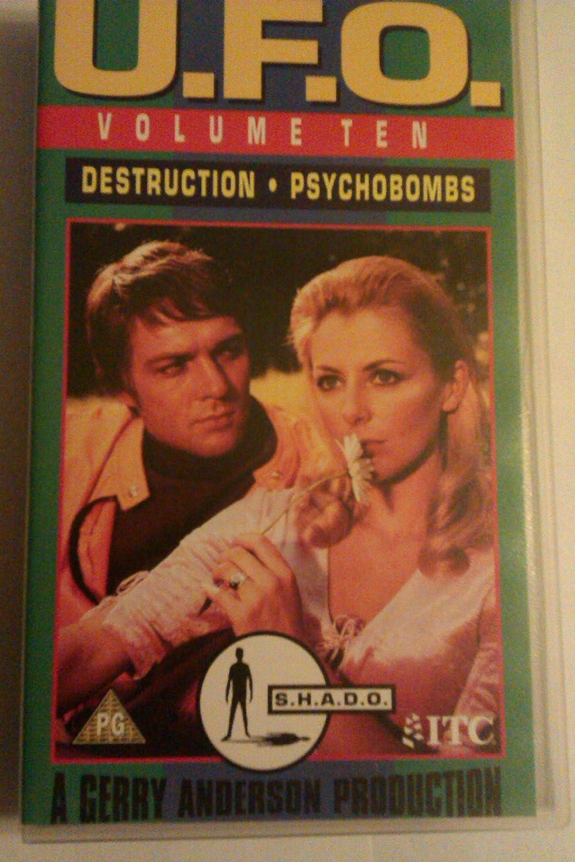 UFO: Volume 10 [VHS] [1970]: Ed Bishop, Mel Oxley, Dolores Mantez