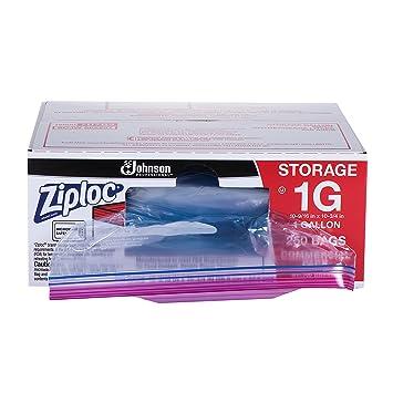 Amazon.com: Bolsa de almacenamiento Ziploc, 019800707641, 1 ...