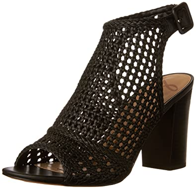Sam Edelman Women's Evie Heeled Sandal, Black, 5 Medium US