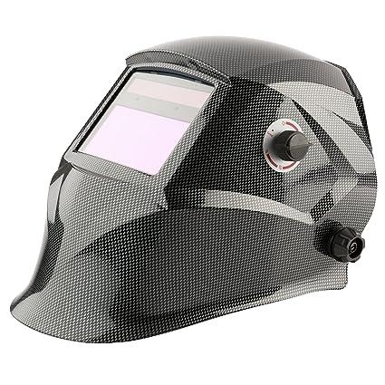 Arebos- Máscara de soldadura formato pasamontañas. Casco de soldadura solar