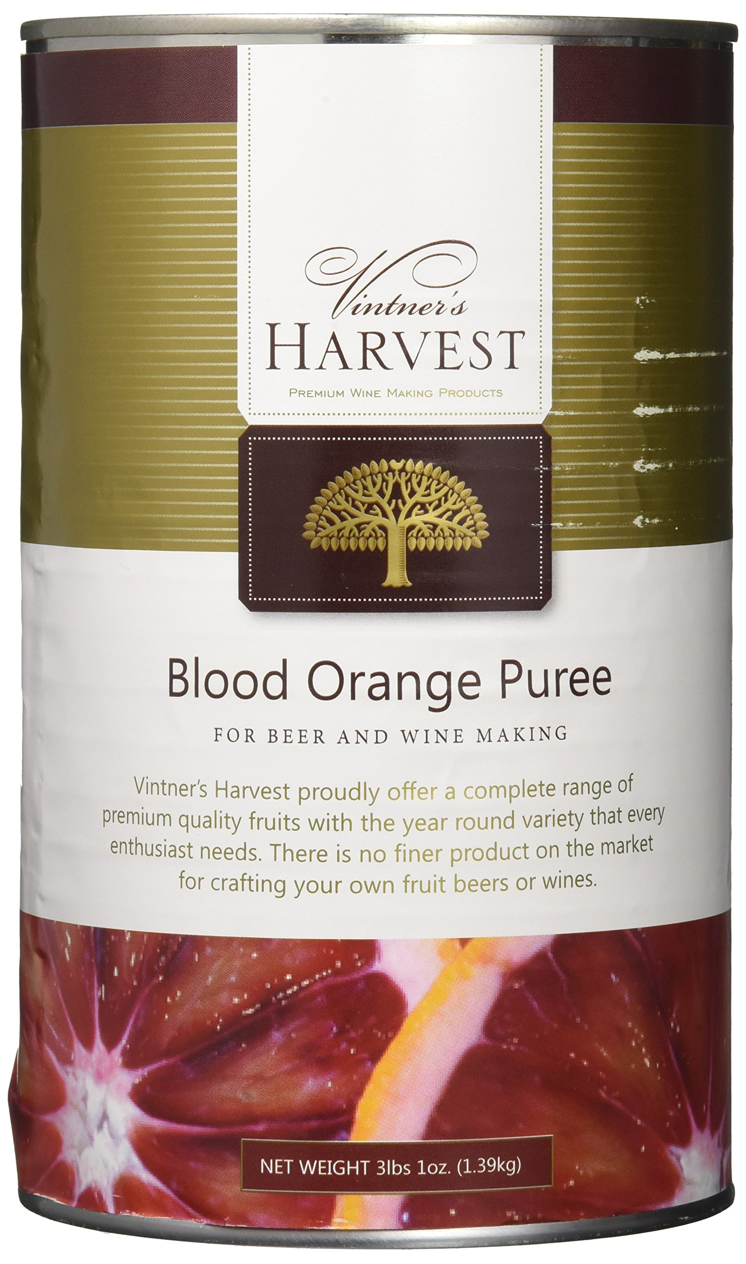 Home Brew Ohio Vintner's Harvest Fruit Puree - Blood Orange 49 oz
