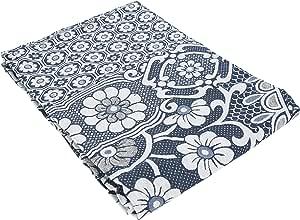 Bedspread Egyptian Cotton,Blue, Single Size, Blue Single