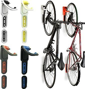 Mural 2 Vélo Cycle stockage Mount Rack Porte-crochet cintre Garage