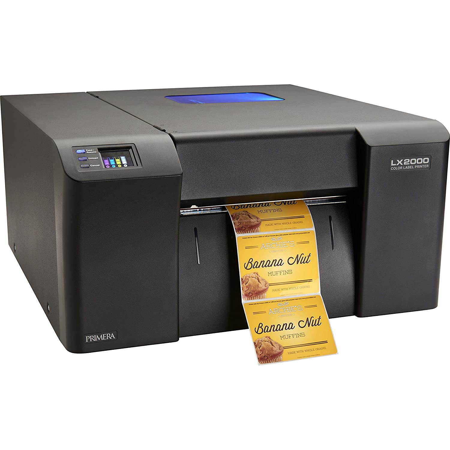 Color printer label - Amazon Com Primera Lx2000 Color Label Printer Print Your Own High Quality Short Run Product Labels Fastest Printing Electronics