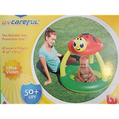 Uv Careful Sun Shade Baby Pool: Toys & Games